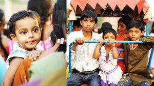 reportaż-zdjęcie-dzieci-w-Delhi